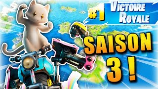 MA PREMIÈRE GAME SUR LA SAISON 3 FORTNITE !