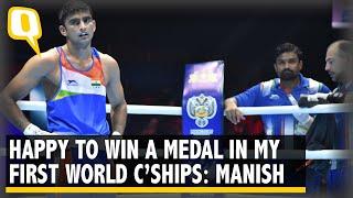 Manish Kaushik Wins Bronze at World Boxing C'Ships   The Quint