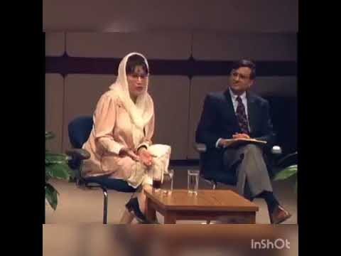 Benazir Bhutto Rare interview about taxation in Pakistan