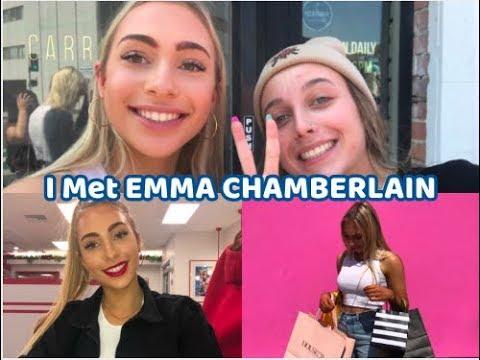 I met Emma Chamberlain + SHOPPING on melrose!!!
