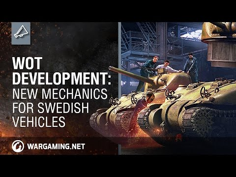 WoT Development: New Mechanics for Swedish Vehicles