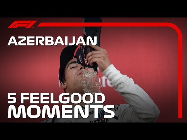 5 Feelgood Moments in Baku   Azerbaijan Grand Prix