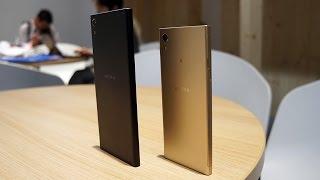 Sony XZ Premium, XZs, XA1, XA1 Ultra Hands on