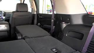 How to use Power Bench Seat Release | 2017 Chevrolet Tahoe Texas Edition