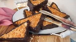 Die BESTEN Nussecken - Klassische Nussecken wie aus der Konditorei - Rezept  machen - Kuchenfee