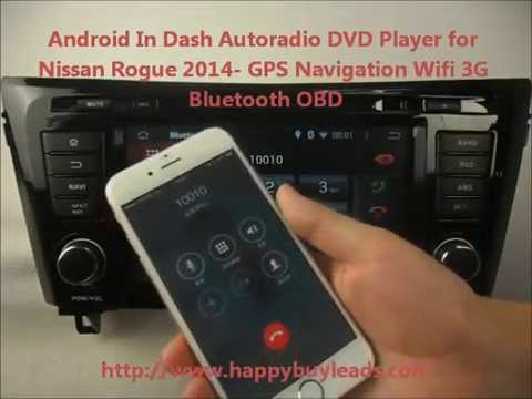 android auto dvd player for nissan rogue 2014 gps. Black Bedroom Furniture Sets. Home Design Ideas