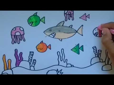 Full Download Menggambar Mewarnai Tk Ikan Laut
