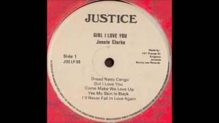 jonnie johnny clarke girl i love you 1977 complete justice jus lp 06 reggae