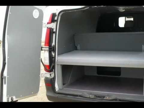 Am nagement mercedes vito youtube for Interieur de camping car