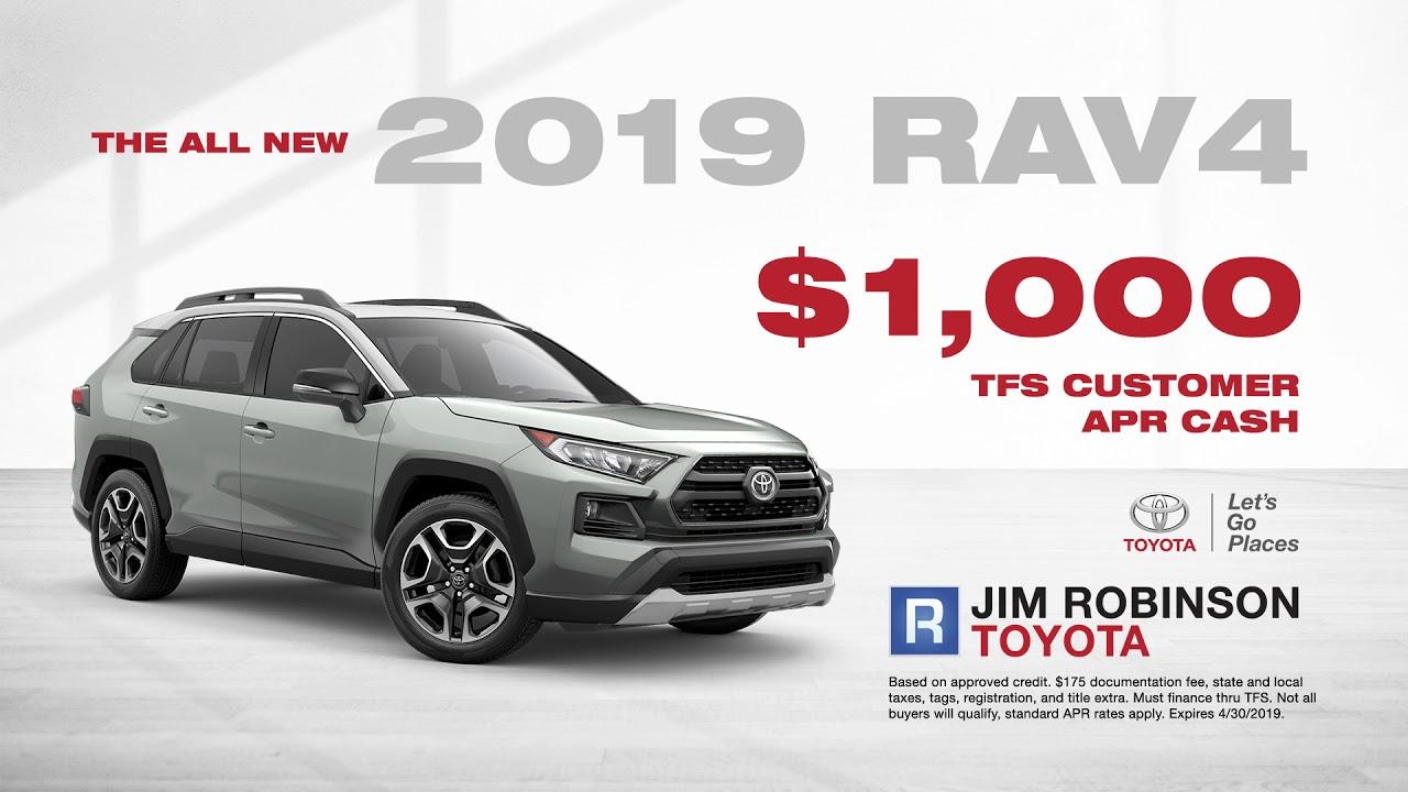 Jim Robinson Toyota >> Jim Robinson Toyota April Promo 2 Youtube