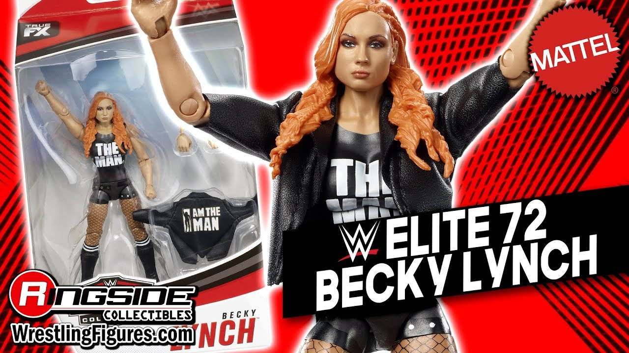 Becky Lynch WWE Elite 72 Mattel Toy Wrestling Action Figure