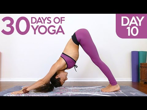 Beginners Fit & Flexible Flow ♥ Essential Poses For Weight Loss, Flexibility | 30 Days Of Yoga