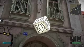 Deus Ex: Mankind Divided - The Music Box Store Explored: Punch Wall, Hack Door, Crafting Parts Loot