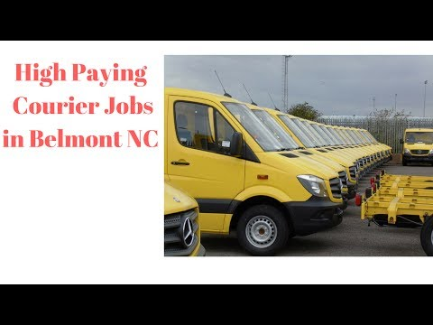 Courier Jobs in Belmont NC