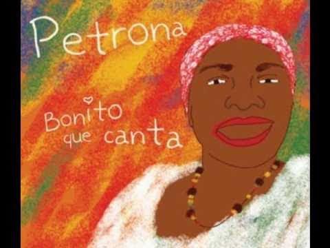 """Tierra Santa"" Bonito que canta. Petrona Martínez con Totó la Momposina"