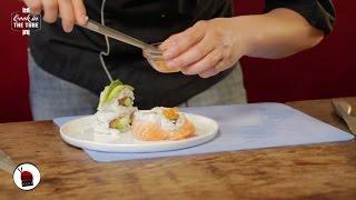 California rolls saumon et avocat  - Recette japonaise
