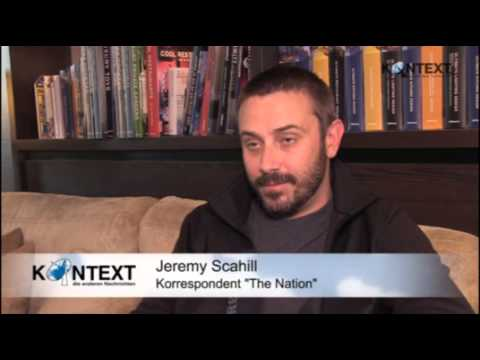 """Jeremy Scahill über """"Schmutzige Kriege der USA"""" 25.10.2013"""
