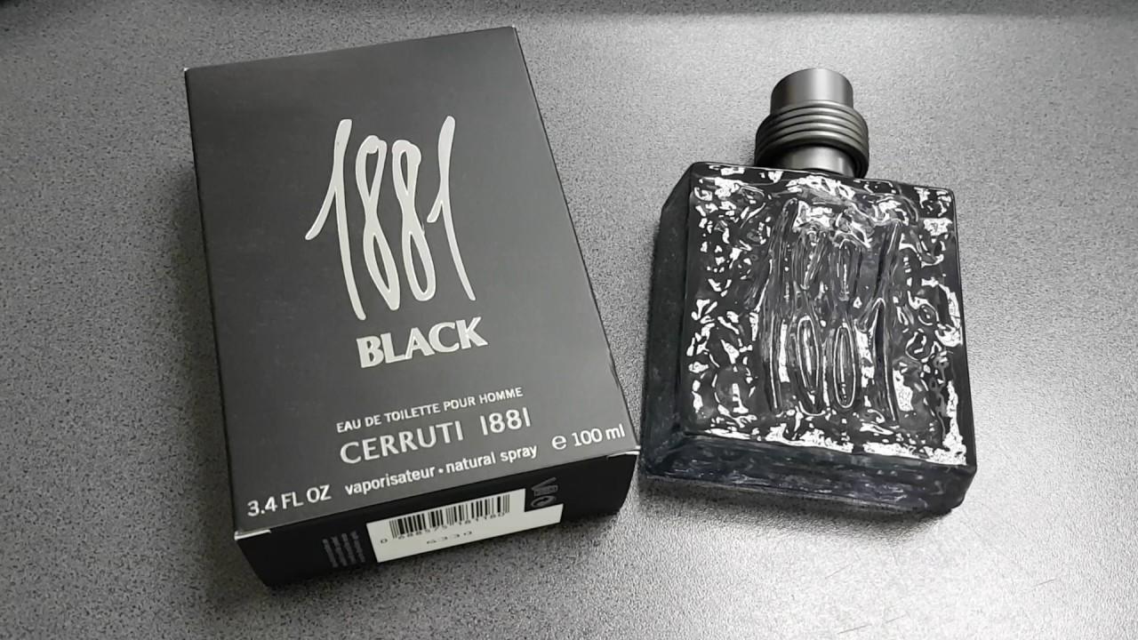 Nino Cerruti 1881 Black Review Parfum Lb Romana Youtube