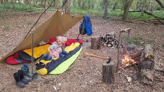 Bushcraft Camping & Prİmitive Survival Fishing - Camp Catch & Cook
