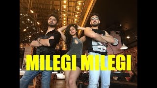 Milegi Milegi Video Song | Stree | Bollywood Dance Choreography | Nidhi Kumar ft. Punit & Shaurya