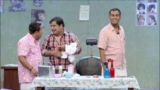 Comedy Festival I Babu's barber shop I MazhavilManorama