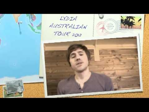 Lydia australian tour 2012 teaser Mp3