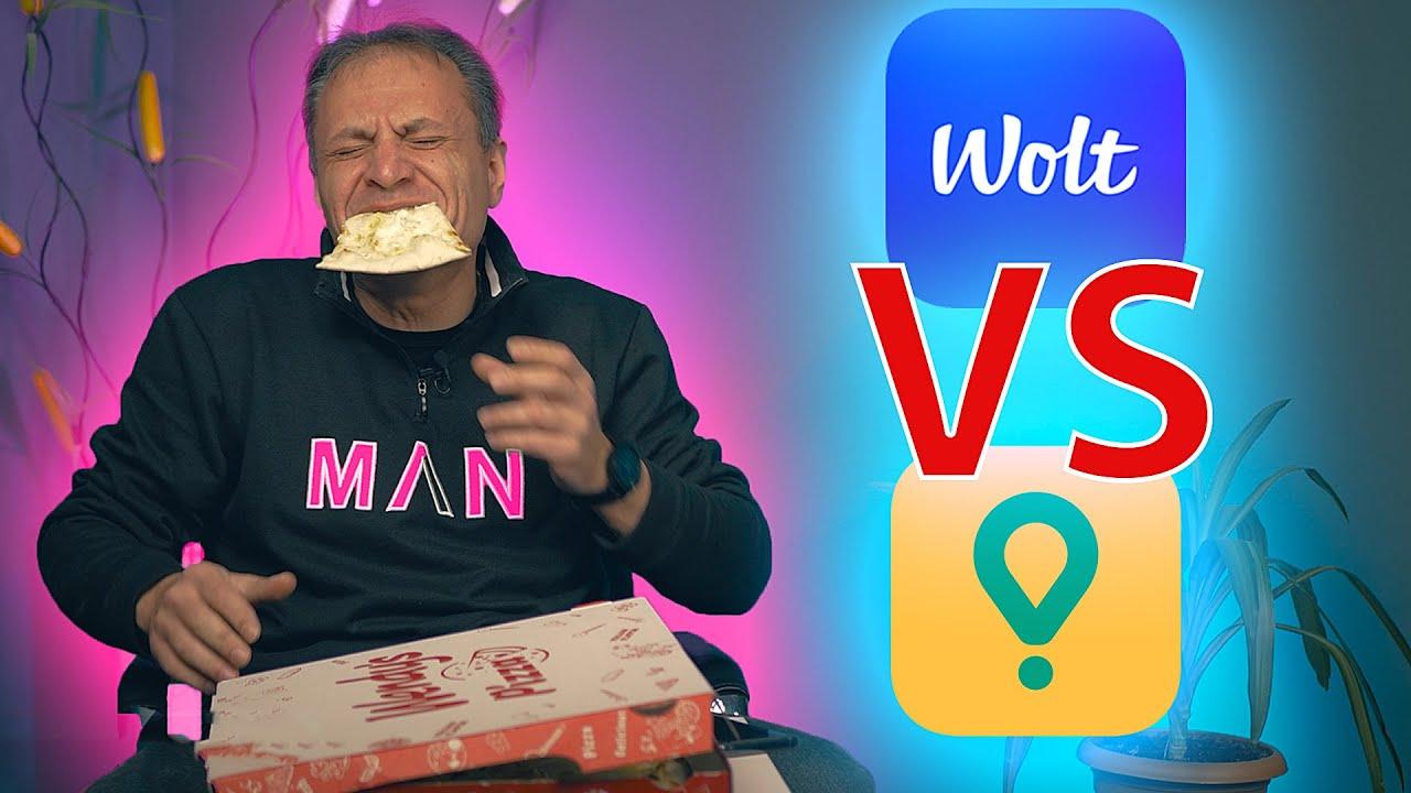 ვინ დაასწრებს WOLT VS GLOVO ჩელენჯი