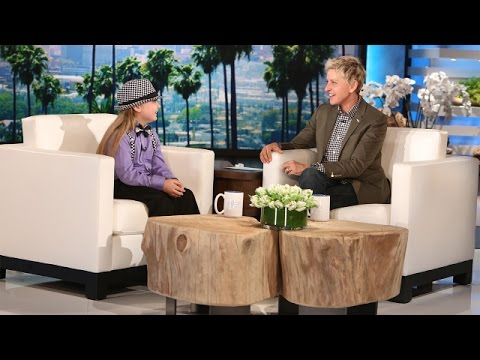 Elias Catches Up with Ellen!