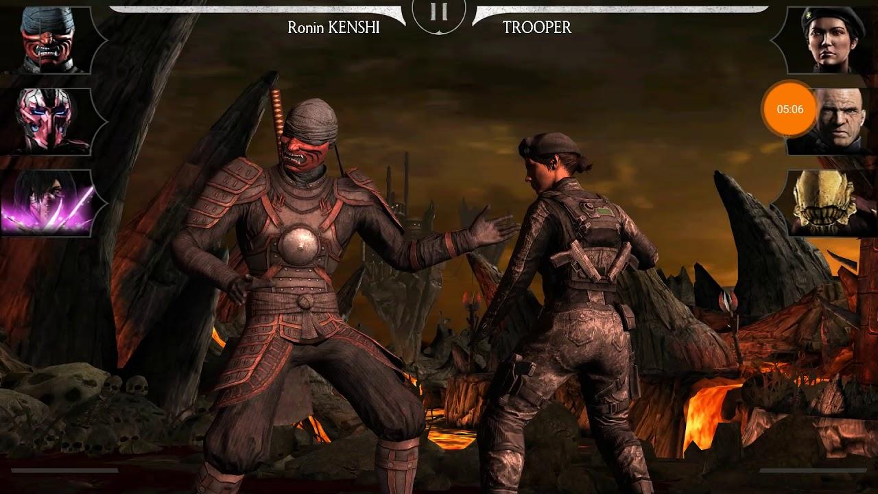Rồng Đen 9 Sự Báo Thù Của Scorpion !! HNT choi game vui Mortal Kombat X Mobile HNT Channel New 9