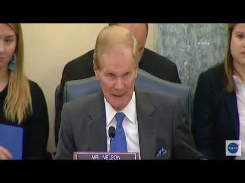 Senator Nelson Doesn't Pull Punches in NASA Administrator Confirmation Hearing