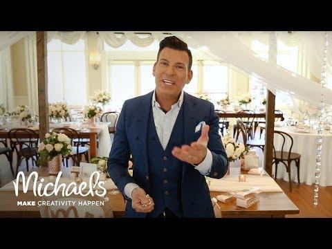 David Tutera: Wedding Reception Decor   Michaels