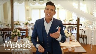 David Tutera: Wedding Reception Decor | Michaels