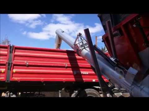 Modish Przenośnik przeładowczy ślimakowy hydrauliczny T 213 - YouTube NH23