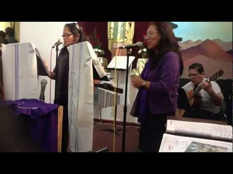 Marys Song  Millie Roth Advent Song St Patricks Catholic Church N Hollywood December 2012