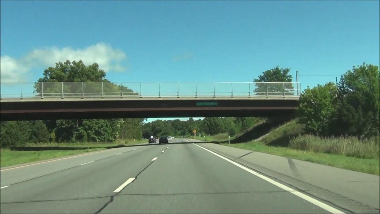 New York - Interstate 87 North (Adirondack Northway) - Mile Marker 0 to 20