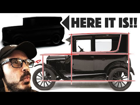 Ford Model T Re-design! What if it was made TODAY??