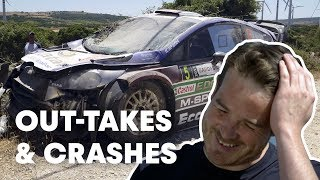 Funny 2018 WRC Outtakes, Bloopers And Driver Mistakes | WRC 2019
