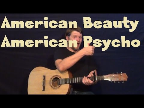 American Beauty / American Psycho (Fall Out Boy) Guitar Lesson - How to Play Tutorial