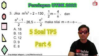 Persiapan UTBK 2022   TPS   Kemampuan Kuantitatif Part 4