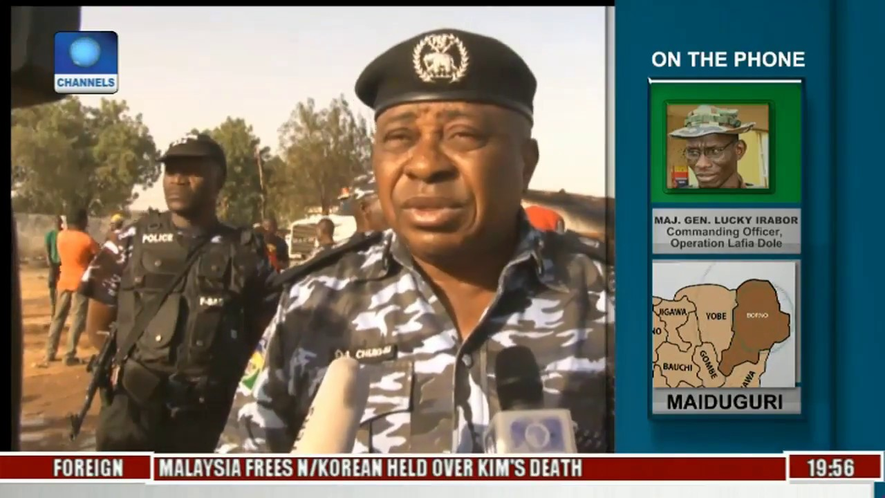 State Of The Nation Focus On Impact Of Police In War A