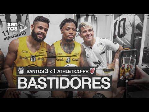 SANTOS 3 X 1 ATHLETICO-PR | BASTIDORES | BRASILEIRÃO (16/08/20)