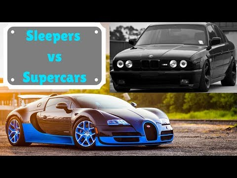 Sleepers Destroying Supercars!