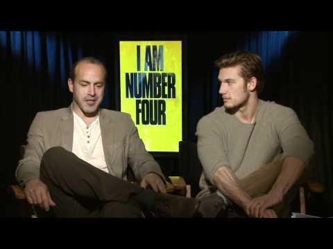 'I Am Number Four'  with D.J. Caruso and Alex Pettyfer