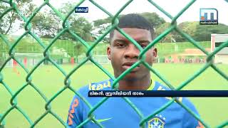 Kochi: The Under 17 World Cup Brazil football team that have a huge...