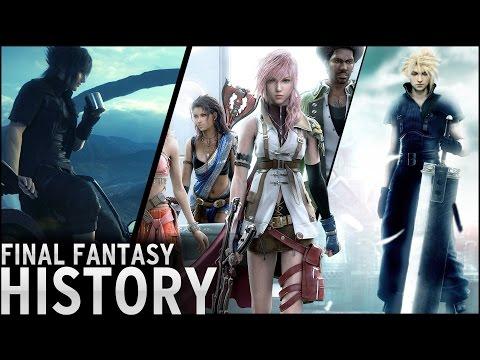 History of - Final Fantasy (1987-2015)