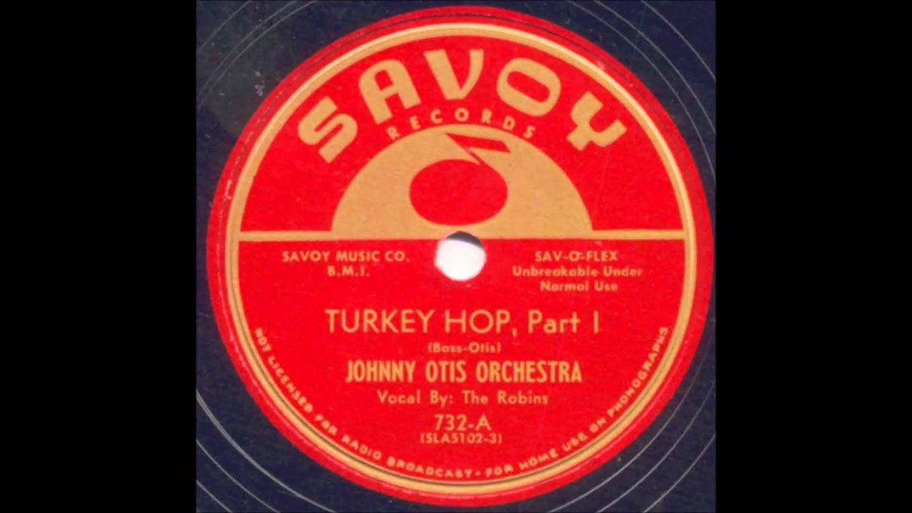 ROBINS - TURKEY HOP, PART 1 / TURKEY HOP, PART 2 - SAVOY 732 - 2 ...