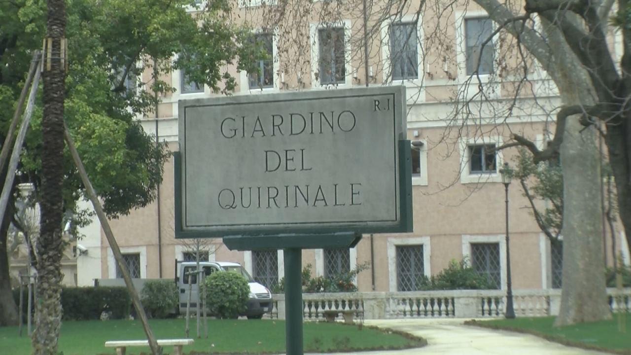 Riaprono i giardini del quirinale il verde presidenziale si rif il look youtube - I giardini del quirinale ...