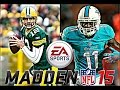 Madden 15 - First Online Match [All-Madden] - Dolphins vs Packers