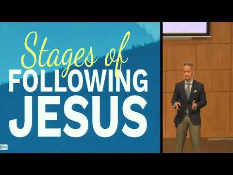 March 21, 2021: Stages of Following Jesus