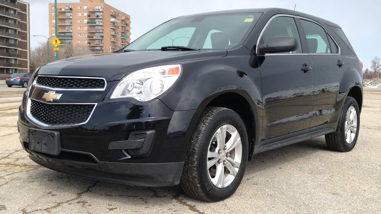 cheap used 2011 chevrolet equinox ls awd for sale in winnipeg form ride time youtube. Black Bedroom Furniture Sets. Home Design Ideas